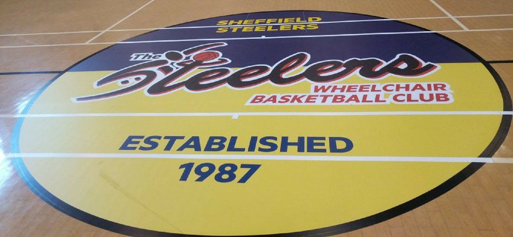Steelers Branding On Court